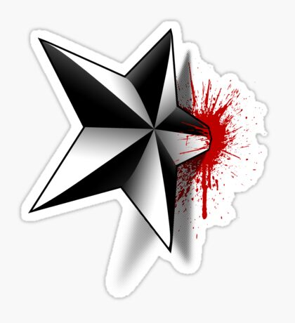 Star of Death Sticker