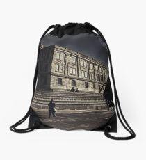 Alcatraz Drawstring Bag