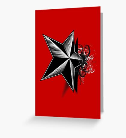 Death upon a Star Greeting Card