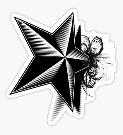 Death upon a Star Sticker