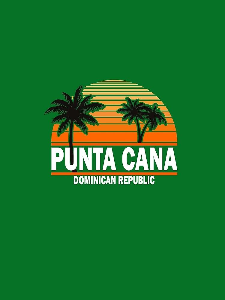 Punta Cana Beach T-shirt Dominican Republic Paradise Tshirt by Syfcondesign