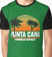Punta Cana Beach T-shirt Dominican Republic Paradise Tshirt Graphic T-Shirt