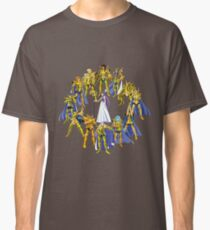 Gold Saints and Athena Classic T-Shirt
