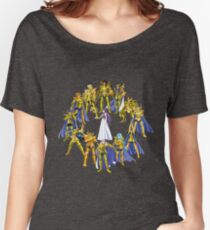 Gold Saints and Athena Women's Relaxed Fit T-Shirt