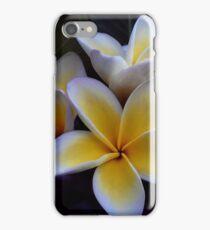 Yellow Frangipani iPhone Case/Skin