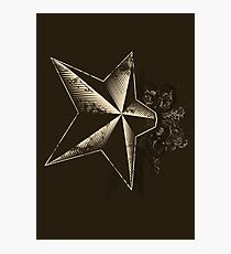 Ye olde star Photographic Print