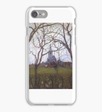 Village Church Piet Mondrian,  iPhone Case/Skin