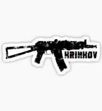 KRINKOV Machine Gun Sticker