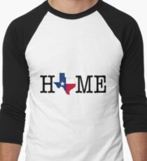 Home - Texas Men's Baseball ¾ T-Shirt