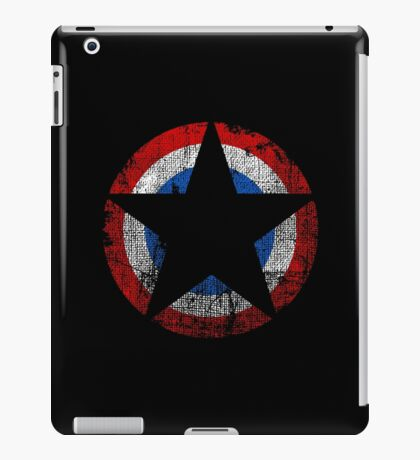 Patriot - Distressed Star iPad Case/Skin
