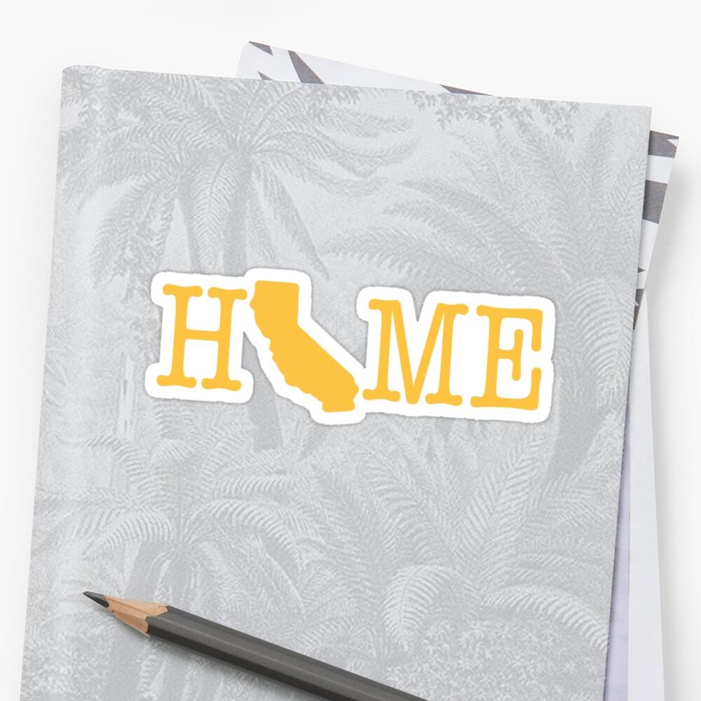 Home - Calfornia Sticker