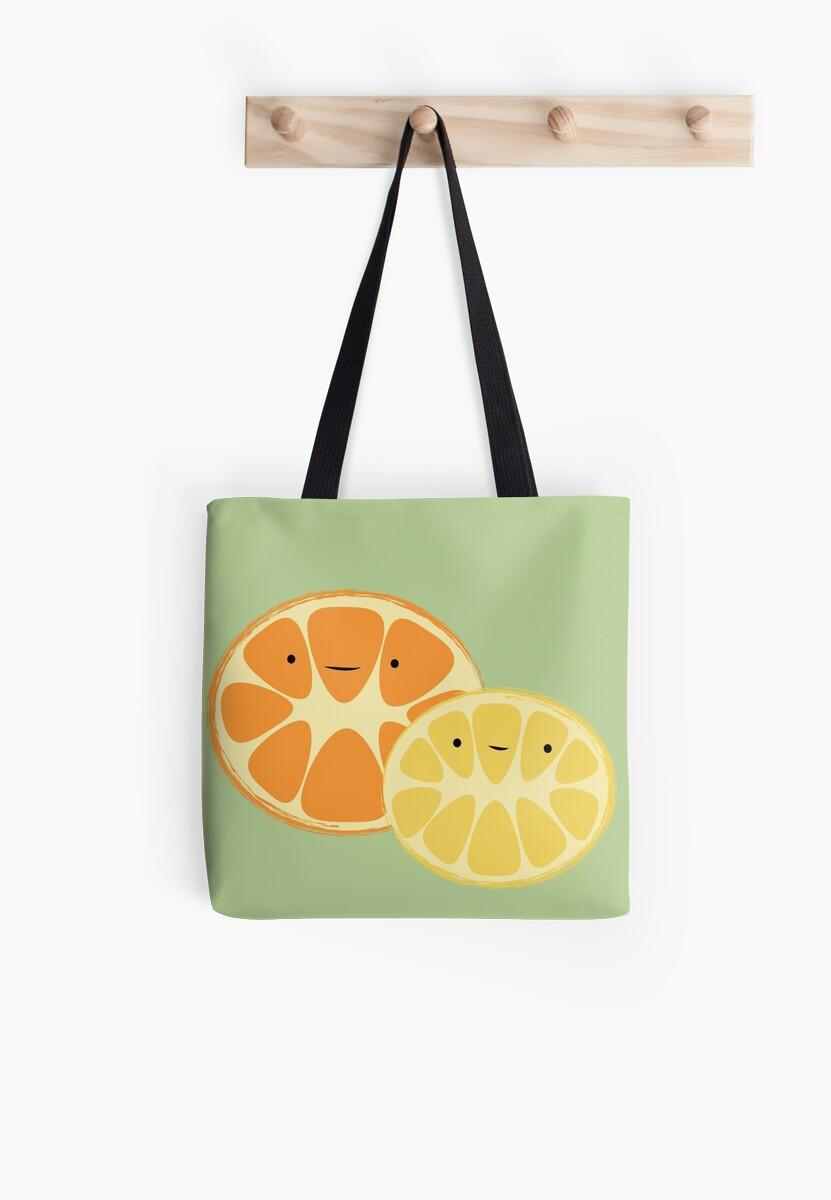 Orange & Lemon Friends by pandavision