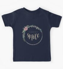 It's a beautiful day to smile Kids Tee