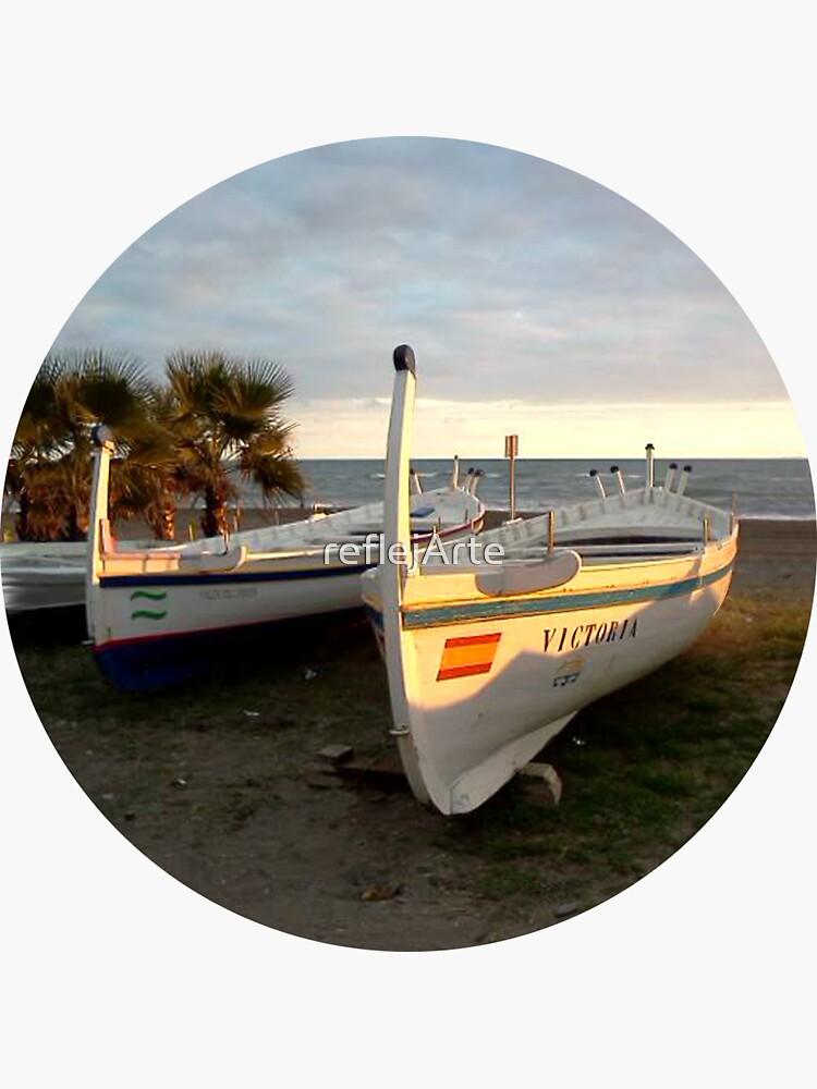 Jabega de Malaga · Fisherman´s Boat · Andalusien by reflejArte
