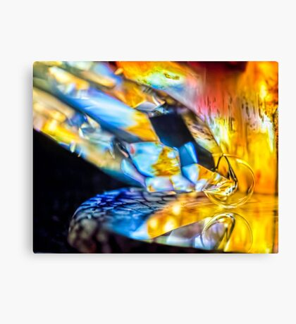 Walking in the River Canvas Print