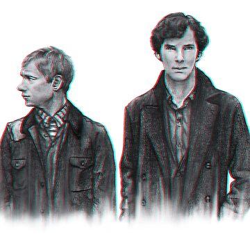 Watson and Holmes by jorujam