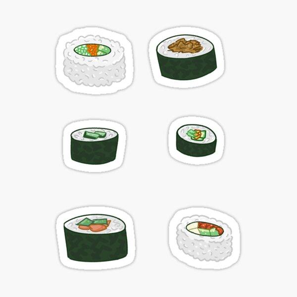 I <3 Sushi Sticker