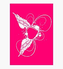 Pink Angel Photographic Print