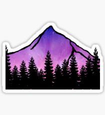 purple mountain majesty  Sticker