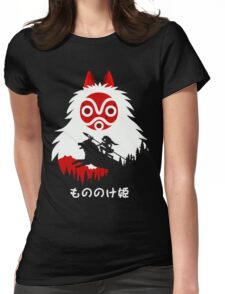 Princess Mononoke - Hayao Miyazaki - Studio Ghibli Womens Fitted T-Shirt