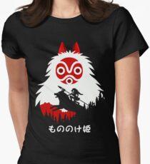 Princess Mononoke - Hayao Miyazaki - Studio Ghibli Women's Fitted T-Shirt