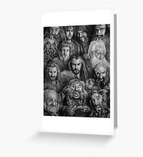 The Dwarves Greeting Card