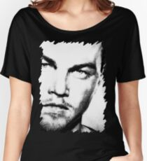 Leonardo Dicaprio - Celebrity - Pencil Art Women's Relaxed Fit T-Shirt