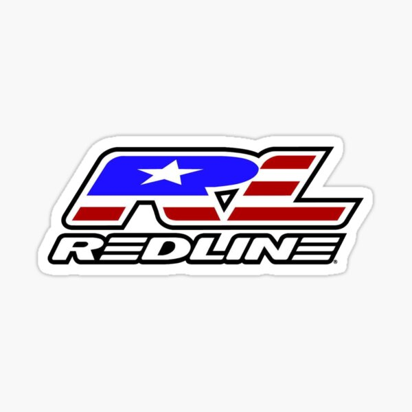 Redline Bmx Sticker By Tttrickyyy Redbubble