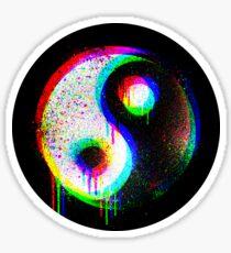 RGB Yin Yang Spectrum Sticker