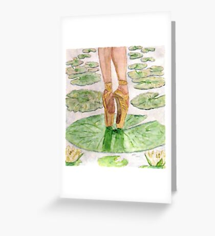 To Dance Greeting Card