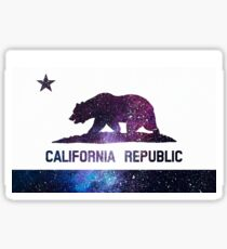 galaxy california flag  Sticker