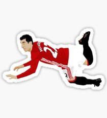 Henrikh Mkhitaryan - Manchester United FC Sticker