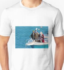 Three kings on the bow Unisex T-Shirt