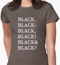 Funny Humor Graphic Text Novelty All Black Joke T-Shirt