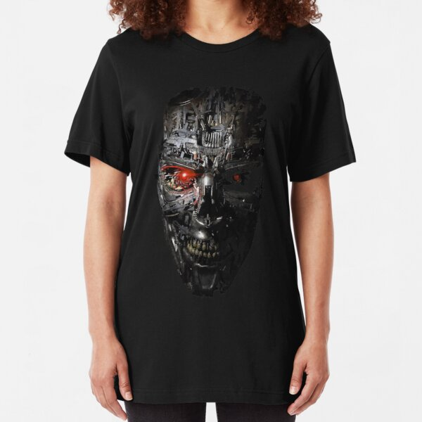 Robot face  Slim Fit T-Shirt
