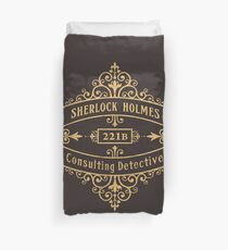 Consulting Detective Duvet Cover