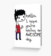 Awesome Day Greeting Card