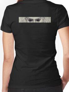 Yolandi Vi$$er Eyes Women's Fitted V-Neck T-Shirt
