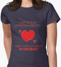 Nerd Valentine - Arrow in the heart T-Shirt