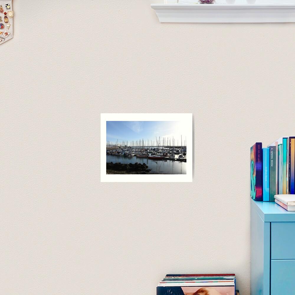 Southampton bay  Art Print