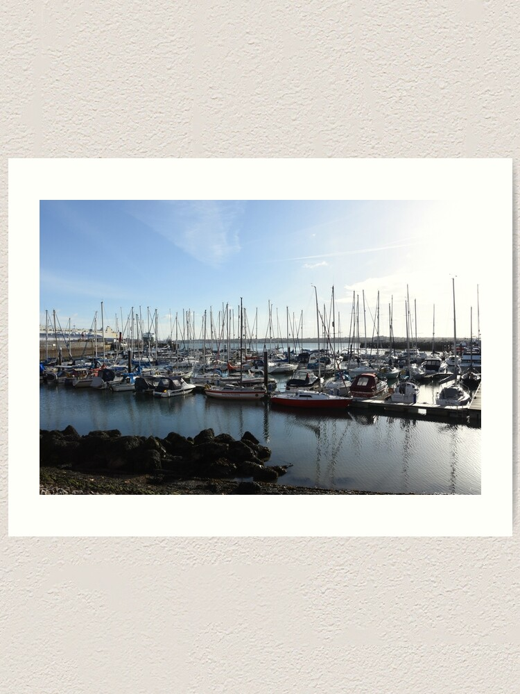Alternate view of Southampton bay  Art Print