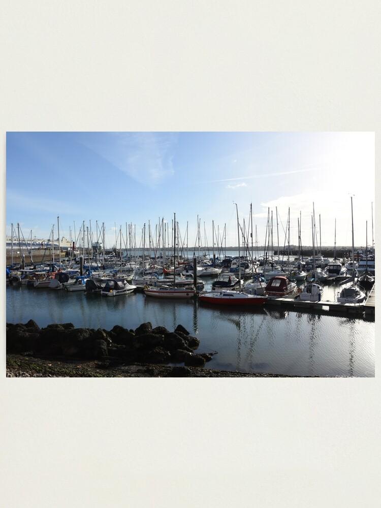 Alternate view of Southampton bay  Photographic Print