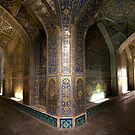 Lotfollah Mosque Entry, Esfahan, Iran by Jane McDougall