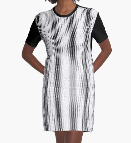 Wave Graphic T-Shirt Dress