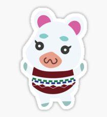 Flurry Animal Crossing Sticker