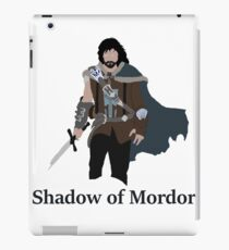Talion, the shadow of Mordor iPad Case/Skin