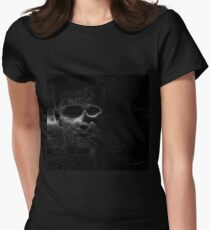 Floating Face Women's Fitted T-Shirt