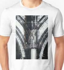 Railways seen from the sky Unisex T-Shirt