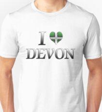 I Love Devon Unisex T-Shirt