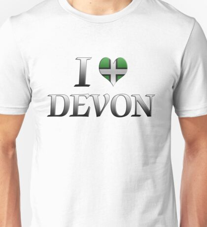 I Love Devon T-Shirt